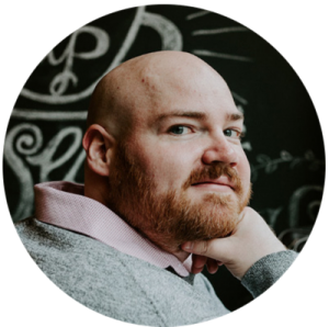 Headshot of Jesse Butts, founder of Calque Marketing